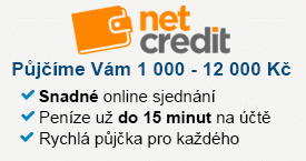 Netcredit - půjčka do výplaty